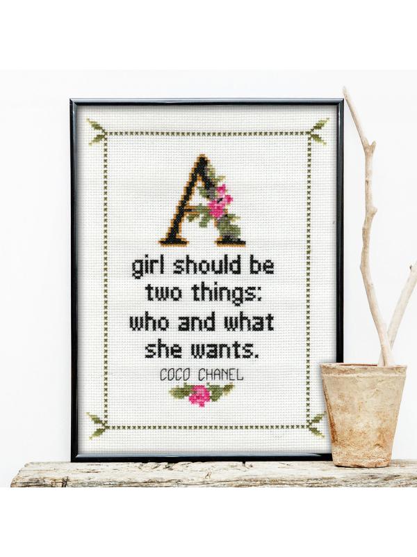 Coco Chanel Quote No. 1