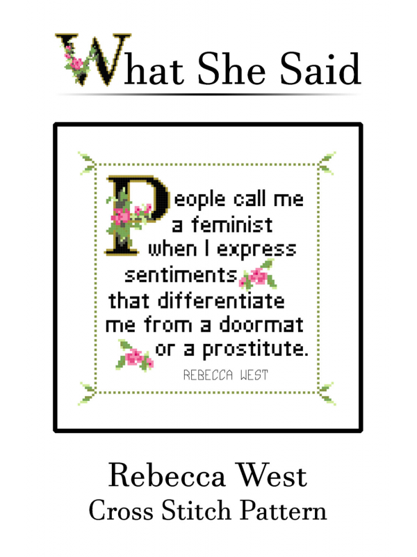 Rebecca West Quote