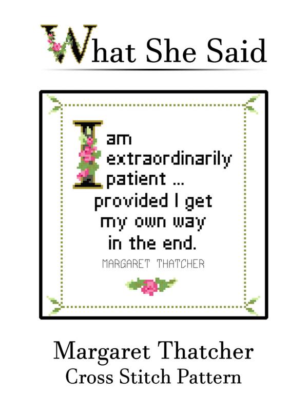 Margaret Thatcher Chart