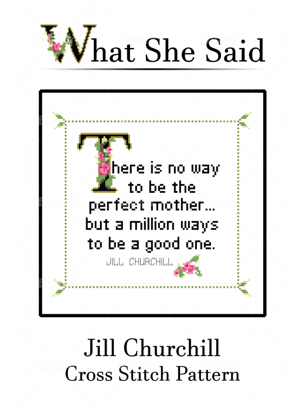 Jill Churchill Quote