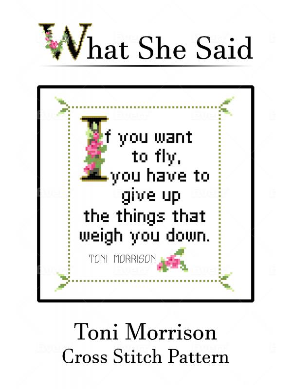 Toni Morrison Quote Chart