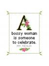 Amy Poehler Cross Stitch Chart