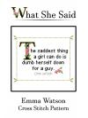 Emma Watson Cross Stitch Pattern