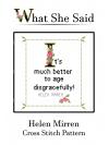 Helen Mirren Chart
