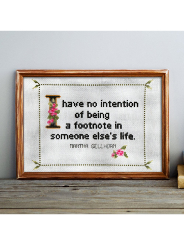 Martha Gellhorn Quote No. 1
